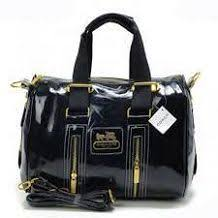 Value Coach Waverly Stud In Signature Medium Black Totes DNG   LOVE    Pinterest   Black tote, Black and Fashion lookbook