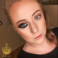 inslam vs natural makeup look natural vs cut crease