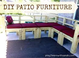 build your own patio furniture amazing how to make patio chair cushions and furniture build your