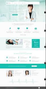 Flat Website Design Ideas Hospital Website Flat Web Design Hospital Website Web
