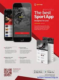Make Flyer App 60 Best Mobile App Promotion Flyer Print Templates 2019