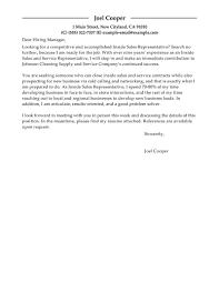 Best Inside Sales Cover Letter Examples Livecareer Resume For