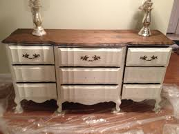 Painting Bedroom Furniture Before And After Chalk Painted Bedroom Furniture