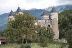 une vue de la faaade ouest. Château De Bon Repos : Vue Rapprochée La Façade Ouest Une Faaade N