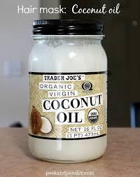 coconut oil overnight hair mask