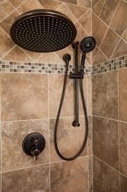 metallic shower head