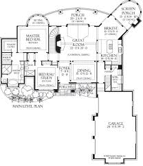 38 best floor plans images on pinterest floor plans, home plans Home Plans With Double Porches first floor plan of the hollowcrest house design plan 5019 house plans with double porches