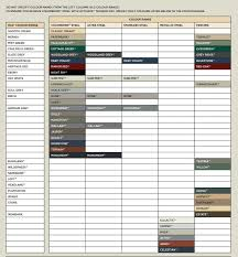 58 Valid Colorbond Steel Colour Matching Chart