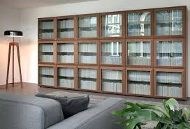 modern bookcase with doors modern bookcase with glass doors mid century modern bookcase with doors