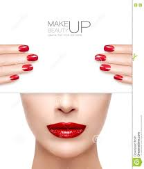 Beauty Makeup And Nail Art Concept Stock Photo - Image: 73586432