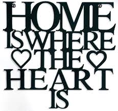 on home is where the heart is metal wall art with metal wall art home is where the heart is sign
