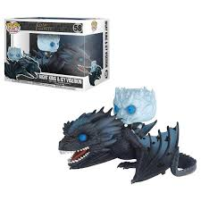 <b>Funko POP! Rides Game</b> Of Thrones Night King On Viserion Vinyl ...