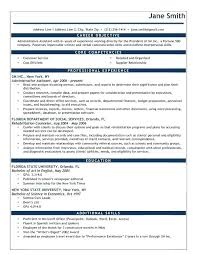 Resume Examples Of Objectives Objectives In Resume For It Jobs Barca Fontanacountryinn Com