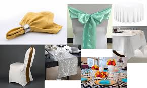 affordable al service of table linen overlays chair covers napkins in elk grove