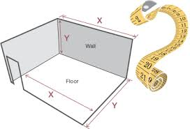 how to measure up tile calculator