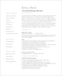 Store Manager Resume Template Retail Sales Manager Resume Retail ...