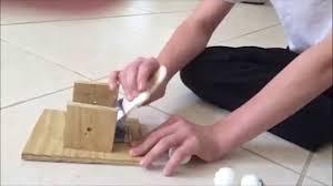 Ping Pong Launchers Cj Mousetrap Ping Pong Launcher Youtube