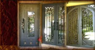iron entry doors glass and iron front doors wrought iron entry doors metal entry doors