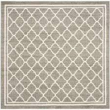 amherst dark gray beige 9 ft x 9 ft indoor outdoor square