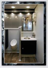 bathroom trailers. The Industrial Restroom Trailer Sinks And Mirror Bathroom Trailers R