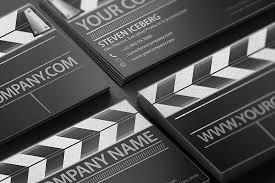 Film Director Business Card ~ Business Card Templates ~ Creative Market