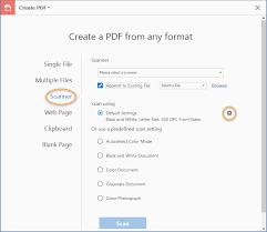 Scan Documents To Pdf Adobe Acrobat