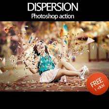 photoshop effects free dispersion effect photoshop free action free photoshop