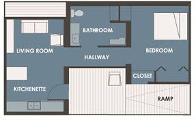 Plans-bedroom house and 50 square meters