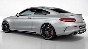 The optional amg aerodynamics package for the c 63 coupé provides an even sportier look: Mercedes Amg C63 Coupe Gains Night Package