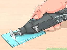 how to cut tile with a image titled use tool step glass cutting dremel cutting glass tile