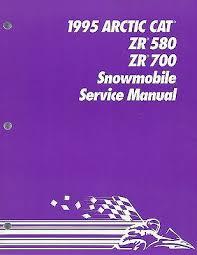 manuals arctic cat zr trainersme new 1995 arctic cat zr 580 zr 700 service shop repair manual 2255 133