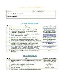 New Hire It Checklist New Hire It Checklist Template Employee Onboarding Excel Apvat Info