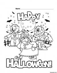 Small Picture Printable Happy Halloween coloring pages Printable Coloring