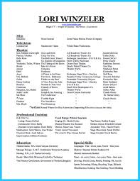 Dance Resume Dance Resume Examples For Auditions Good Best Profile Sample Great 97