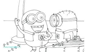 Minions Coloring Pages Pdf Minion Coloring Pages Free Kids Minions
