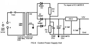 technical article by mr control supply circuit diagram is given in fig 6 the control transformer is a step down transformer primary 250v secondary 14 0 14 500 ma