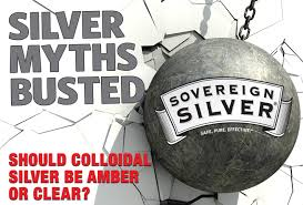 Busting Silver Myths Should Colloidal Silver Be Amber Or Clear