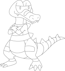 Small Picture Krokorok Pokemon coloring page Free Printable Coloring Pages