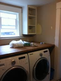 Washer Dryer Shelf Laundry Room Shelf Over Washer Dryer Brucallcom