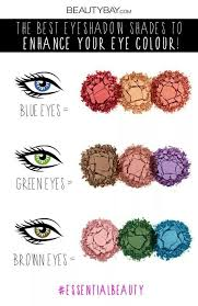 eye makeup colors for green eyes blue eyes and brown eyes