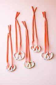 diy candy pretzel necklace