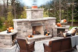 build your own outdoor fireplace plans image kit with oven diy