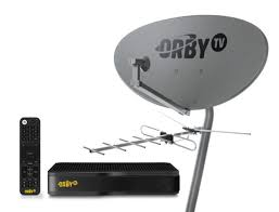 Tv Dish Antenna Are Designed Start Up Orby Tv Beams Into U S Satellite Tv Biz With Pre