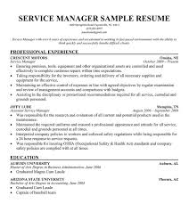 Automotive Service Manager Resume Templates