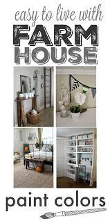 farmhouse paint colorsOur Homes Farmhouse Paint Colors  The Creek Line House