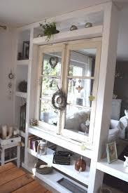 Wohnzimmer Trennwand Reizend Raumteiler Mit Altem Fenster