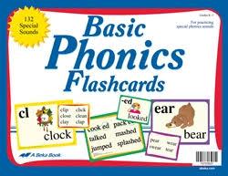 Abeka Special Sounds Charts Basic Phonics Flashcards