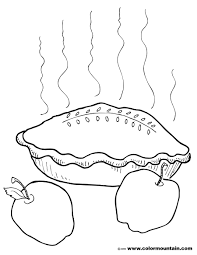 Small Picture Hot Apple Pie Coloring Create A Printout Or Activity