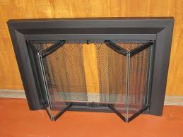 portland willamette fireplace screen bi fold
