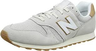 New Balance Men's 373 Suede Trainers, Beige   Shoes - Amazon.com